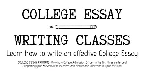 College Essay Writing Class tickets
