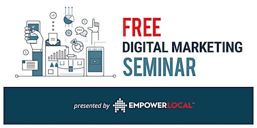 "Free Seminar ""5 Ways to SIMPLIFY Digital Marketing &  Reach More Customers"""