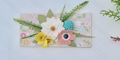 Hand Cut Felt Florals