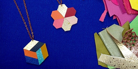 Geometric Leather Necklace Workshop with Little Swift tickets