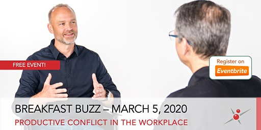 Breakfast Buzz: Productive Conflict in the Workplace