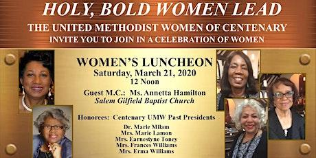Annual Women's Luncheon tickets