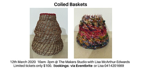 Coiled Baskets tickets
