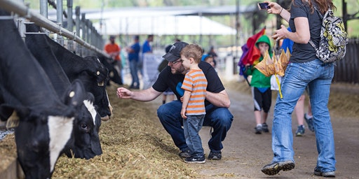 2020 Family Day at the Dairy Farm (SPONSORSHIP payment). Event is free to the public and tickets are not needed.