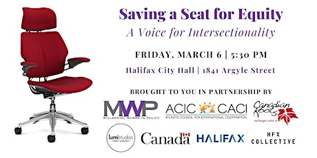 (Saving) A Seat for Equity: A Voice for Intersectionality tickets