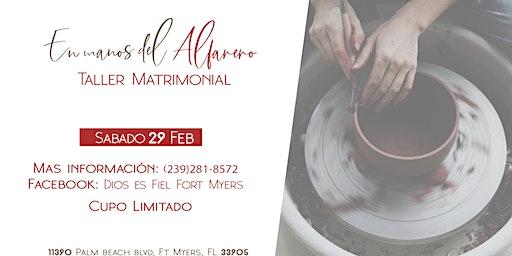 En las manos del Alfarero - Taller de Matrimonios