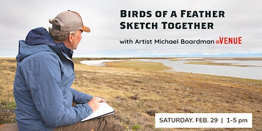 Birds of a Feather Sketch Together with Artist Michael Boardman