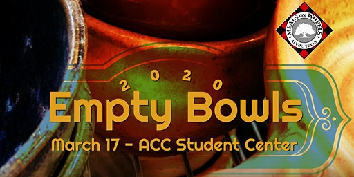 3rd Annual Empty Bowls Fundraiser