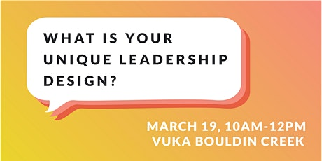 Alignment Leadership: What is Your Unique Leadership Design? tickets