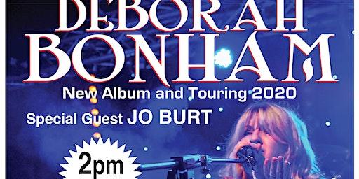 Deborah Bonham with special guest Jo Burt