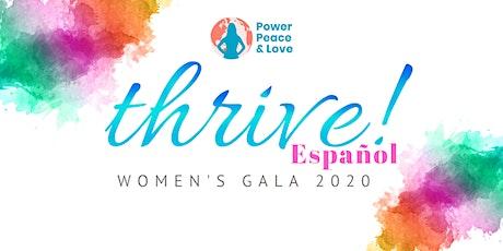 Thrive! Gala  Pagina Español tickets