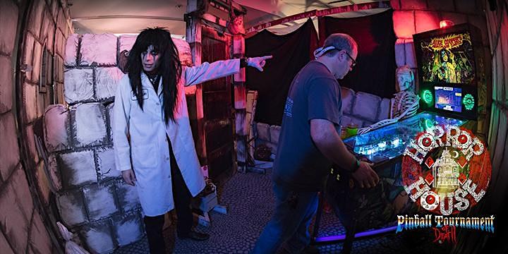 Horrorhouse Fest Pinball Tournament of Death vs. Winter! image
