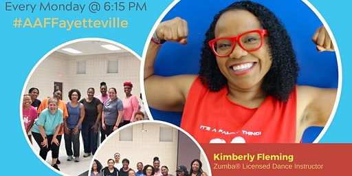 FREE Fayetteville-Area All About Fitness Zumba