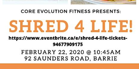 Shred 4 Life! tickets
