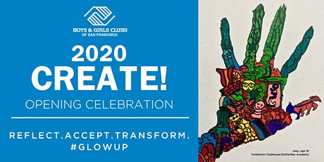 2020 CREATE! tickets