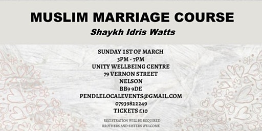 MUSLIM MARRIAGE COURSE