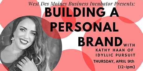 Expert Advice // Building a Personal Brand tickets