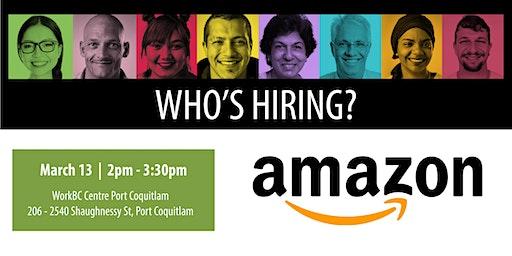 Who's Hiring? Amazon