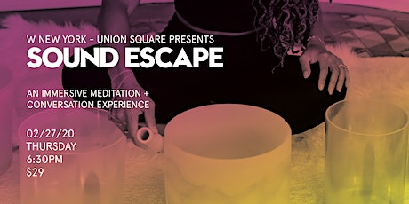 Sound Escape tickets