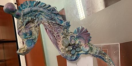 Creative Seahorse Wall Art Workshop! #powertex tickets