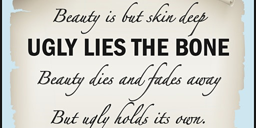 Ugly Lies the Bone