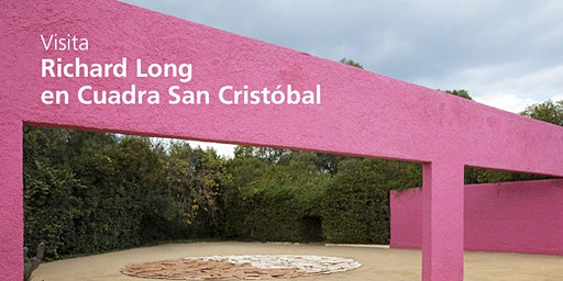 Visita Richard Long en Cuadra San Cristobal
