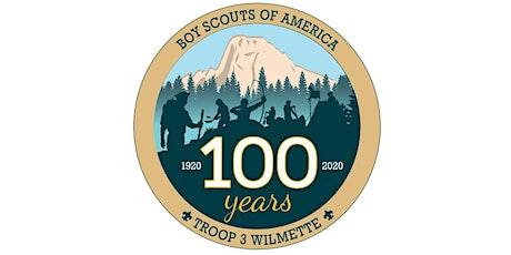 Scouts BSA Troop 3 Wilmette Centennial Dinner and Celebration tickets