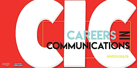 Careers In Communications 2020 tickets