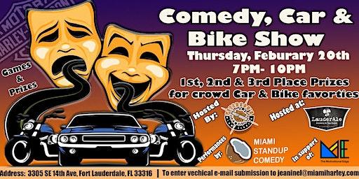 Comedy, Car and Bike Show