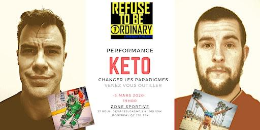 Changer les paradigmes - Keto et performance