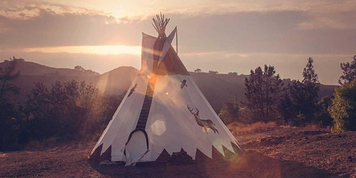 RETURN TO THE REALM OF LIGHT :: A SACRED DRUM + CHANTING CIRCLE IN A TIPI