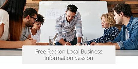 Free Local Business Information Session - St Leonard's tickets