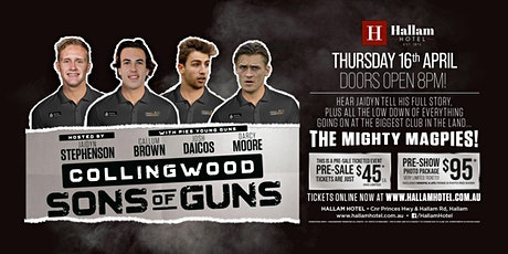 Sons of Guns - Stephenson, Brown, Daicos and Moore LIVE at Hallam Hotel! tickets