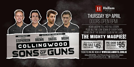 Sons of Guns - Stephenson, Brown, Daicos and Moore LIVE at Hallam Hotel!