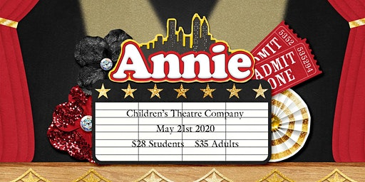 Girl Scouts at the Theater: Annie