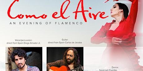 Como el Aire, an evening of Flamenco Sacramento tickets