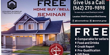 Come Join us to our Home Buying & Selling Seminar tickets