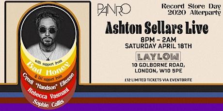 PaNrO presents Ashton Sellars Live tickets