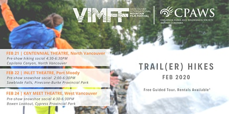 VIMFF x CPAWS-BC: Trail(er) Hikes tickets