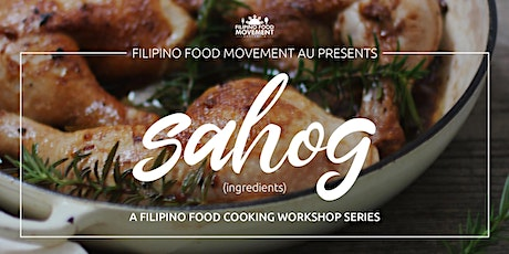 Sahog : A Philippine Food Cooking Workshop tickets