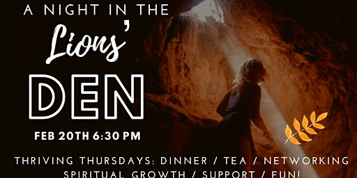 Thriving Thursday Women: A Night in the Lions' Den + February Fondue party!