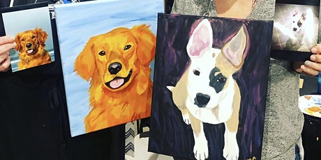 Paint your Pet Portrait class at Chateau Bianca in Dallas OR tickets