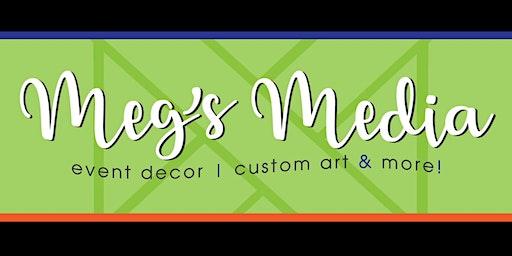 Meg's Media Mingle~Craft & Sip~Wood Signs