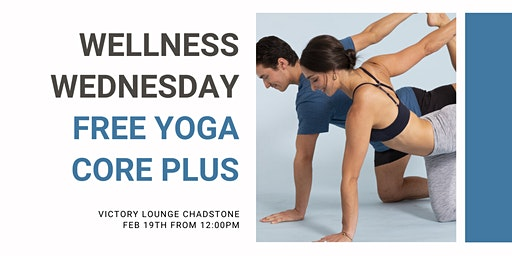 REGISTER INTEREST FOR NEXT SESSION: Lunchtime Yoga with Core Plus