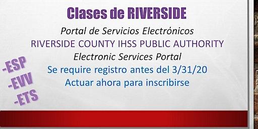 EN ESPAN0L RIVERSIDE Spruce St, Portal de Servicios Electronicos