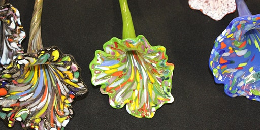 Create a Hot Glass Flower at the House of Glass in Elwood for $40