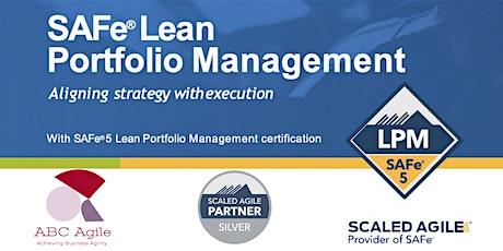 """Curso """"Lean Portfolio Management"""" con certificación como (LPM) - Madrid - Borja Marcos Nuñez entradas"""