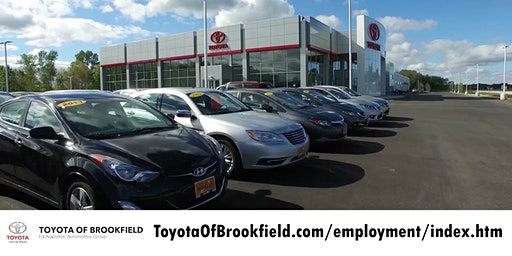 Toyota of Brookfield Career Fair
