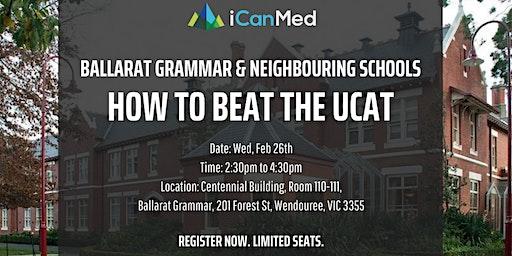 Free UCAT Workshop: How to Beat the UCAT (Ballarat Grammar & Neighbouring Schools)