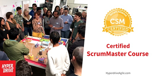 Certified ScrumMaster Course (CSM) - Jersey City, NJ